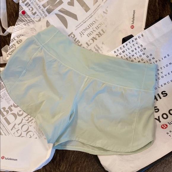 lululemon athletica Pants - Lululemon Speed Shorts NWOT